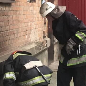 У пожежі у Вінниці постраждав чоловік