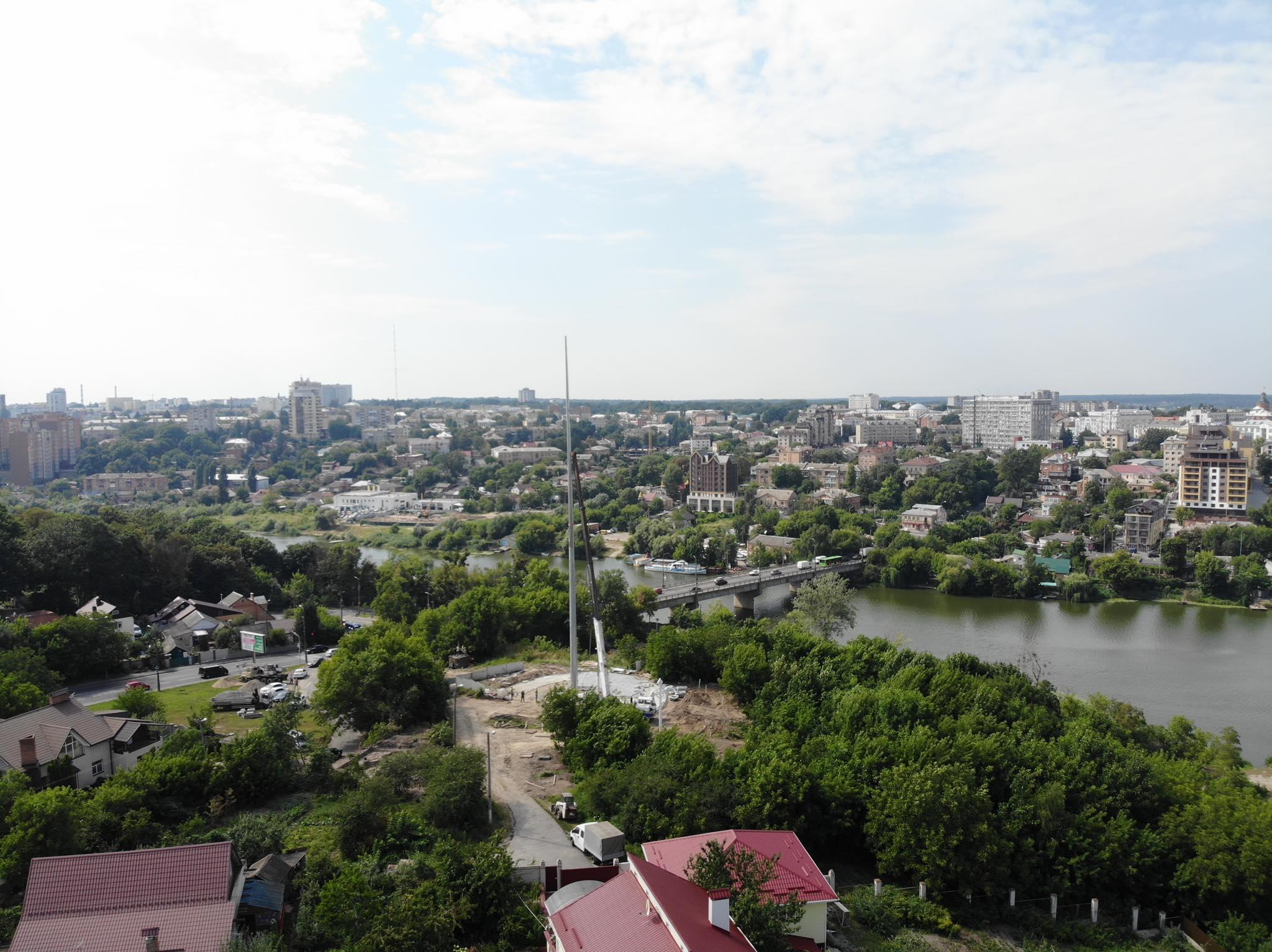 До Дня Прапора у Вінниці піднімуть прапор України на Замковій горі