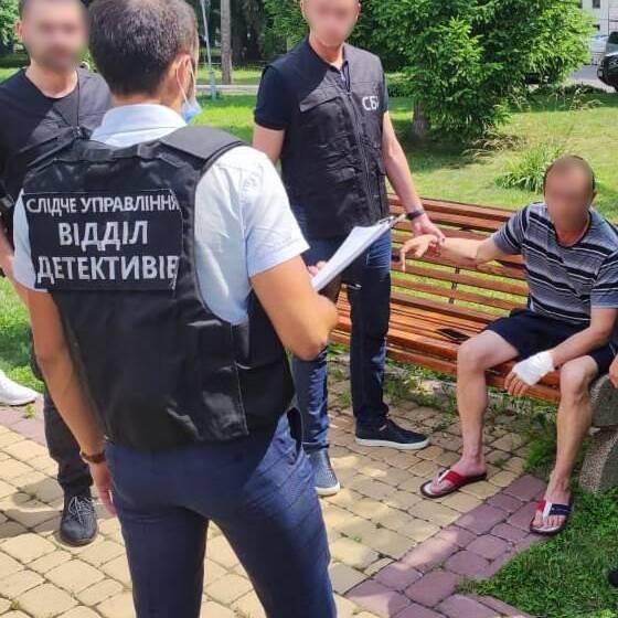 У Вінниці затримала військового, який вимагав хабар
