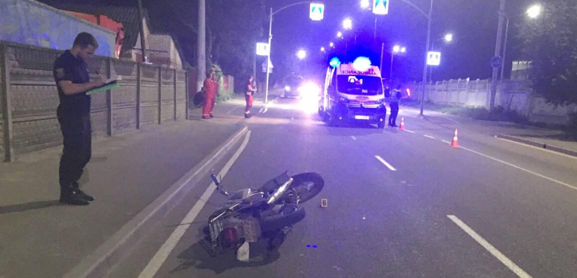 У ДТП у Вінниці загинув мотоцикліст