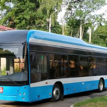 У Вінниці тестують новий тролейбус VinLine