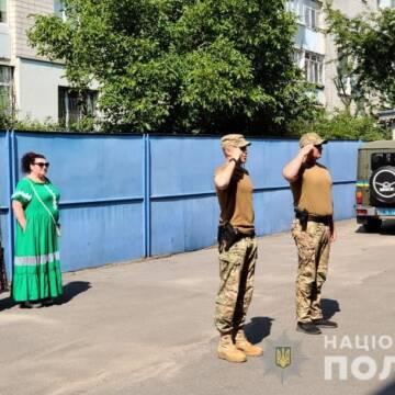 Загін вінницьких поліцейських вирушив у зону проведення ООС