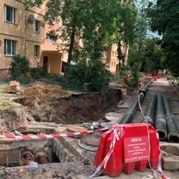 У двох вінницьких дворах завершують заміну мереж водогону та каналізації
