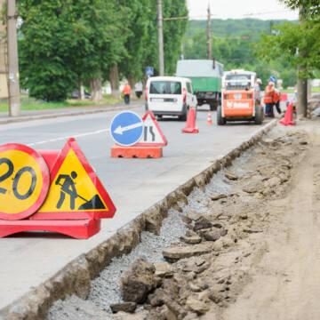 У Вінниці продовжують ремонтувати тротуари