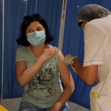 На вихідних у Вінниці вакцинували понад півтисячі чоловік