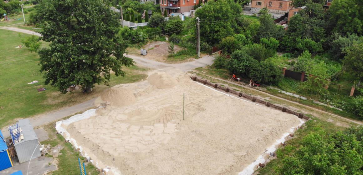 У Вінниці з'явиться новий майданчик для пляжного волейболу