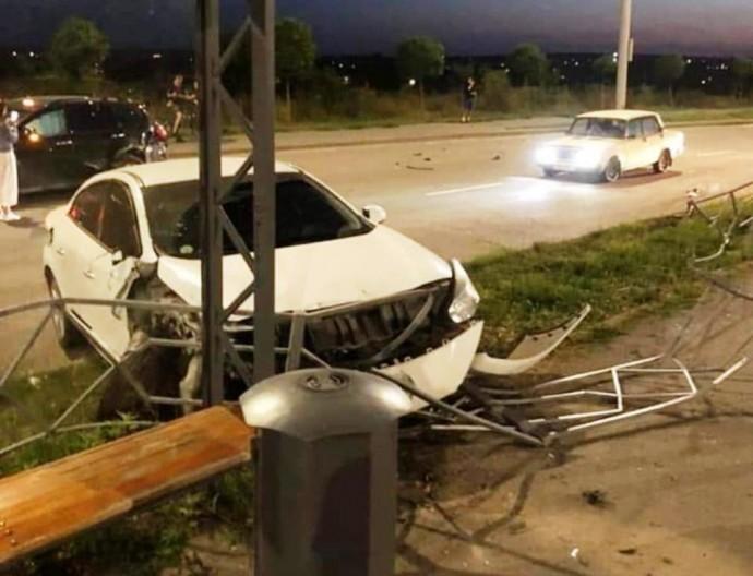 У Вінниці п'яний водій скоїв ДТП і намагався втікти з місця пригоди