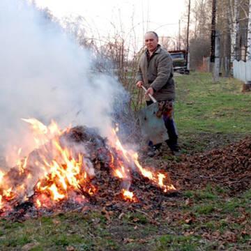 Жителям Вінниччини нагадали чому шкідливо спалювати листя