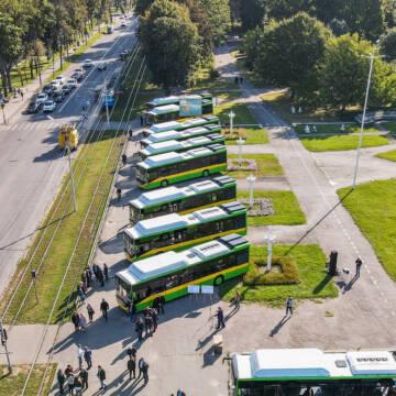 Вінницею будуть їздити новенькі муніципальні автобуси