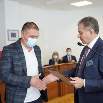 Вінницькому учаснику АТО вручили сертифікат на придбання автомобіля